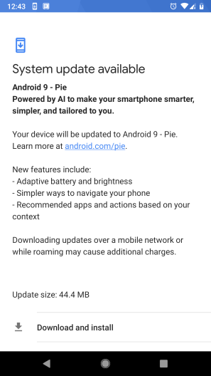 Google Relased New Android 9 Pie Features specs
