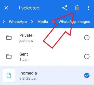 Как исправить изображения WhatsApp, не отображаемые в галерее