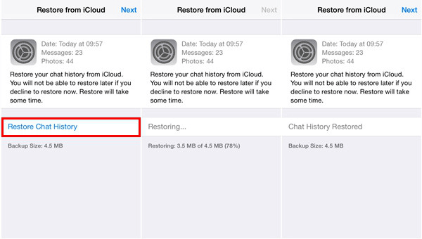Recover Deleted WhatsApp Messages on iOS