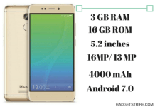 Gionee X1s Specs, features and price