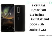 Nokia 6 (2018) specs & features