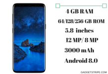 Samsung Galaxy S9 Specs & features