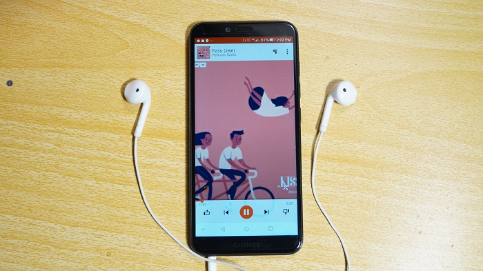 Gionee s11 lite review music play