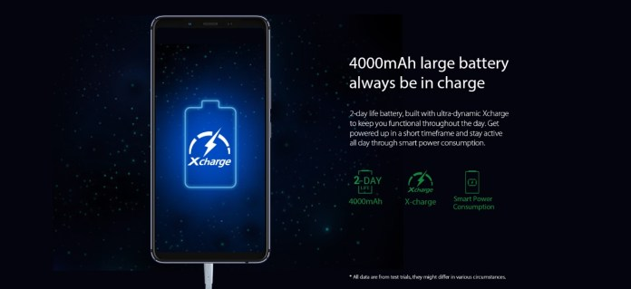 Note 5 pro battery