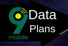9Mobile Data Plans