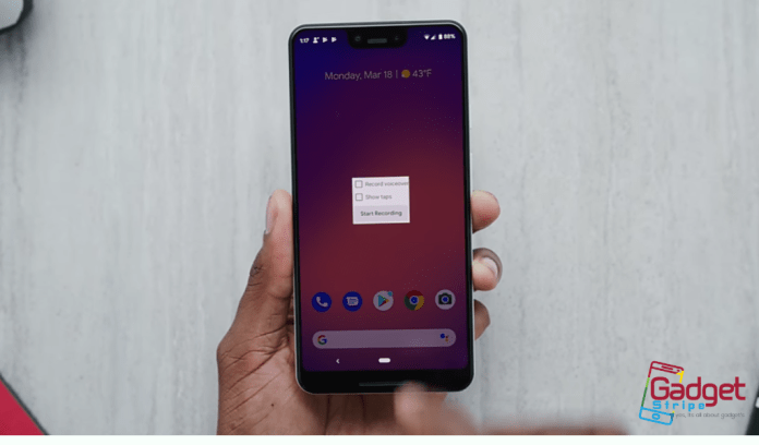 Android Q Screen Record