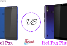 itel p33 and p33 plus