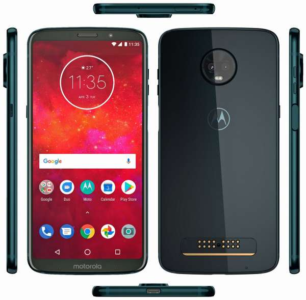 November 2018 security patch is live for Moto Z3 Play – Build OPWS28.70-47-5