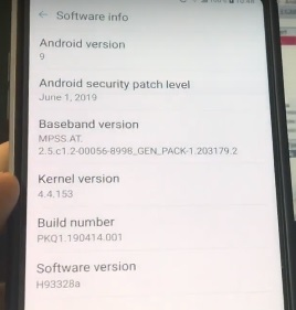 Download & Install leaked Android Pie KDZ for LG V30 [PKQ1