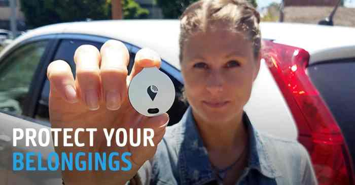 TrackR Vehicle Tracking System