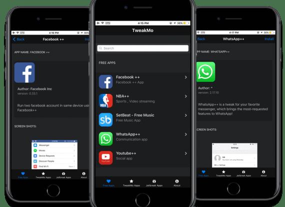 Tweakmo Download | Do not Jailbreak iOS 11 Use Tweak Mo