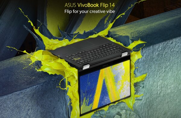 ASUS VivoBook Flip 14 unveiled - the first laptop with Intel discrete graphics