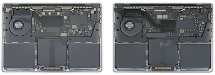 Disassembly of Apple MacBook laptops (1)