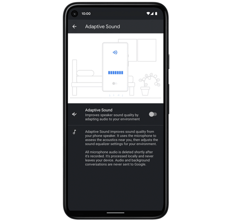 Google is rolling out new features for Pixel smartphones: battery optimization, new setting in Google Photos, Adaptive Sound, and more.