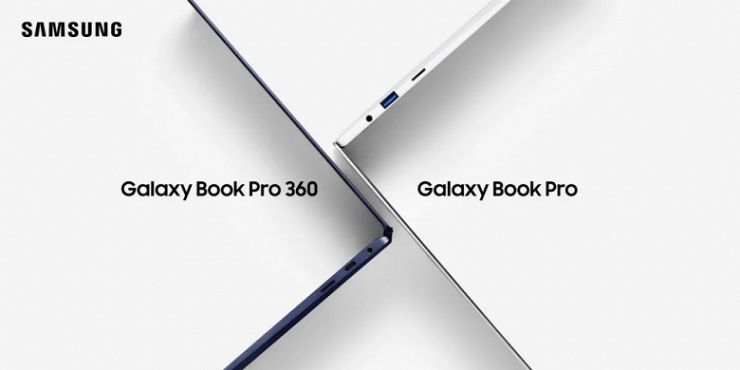 Samsung Galaxy Book Pro and Galaxy Book Pro 360 laptops presented