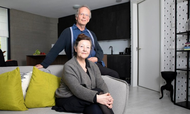 The couple move into Europe's first fully 3D-printed home