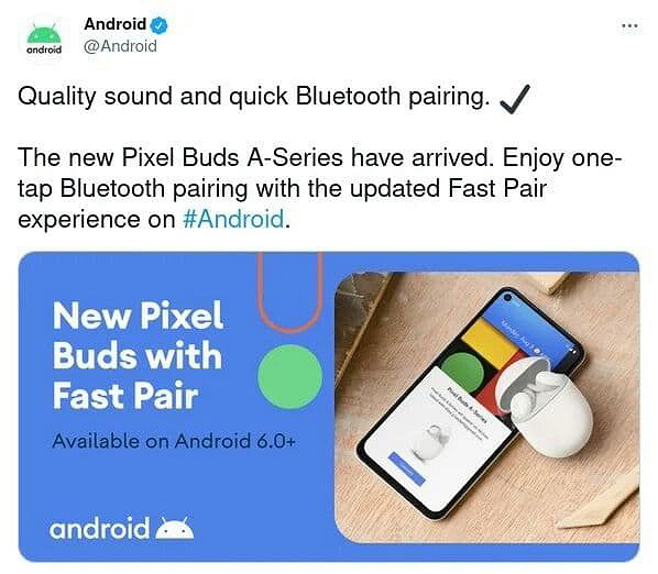 Google spotted inexpensive Pixel Buds A wireless headphones