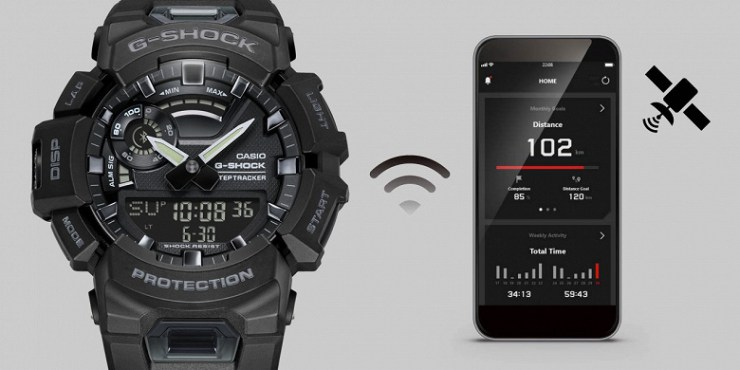 Casio unveils its cheapest G-Shock fitness watch with smart features