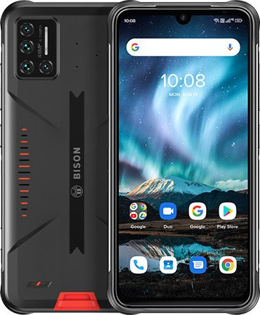 Android 11, IP69K, underwater, NFC and barometer, inexpensive.  Unkillable Umidigi Bison 2021 introduced