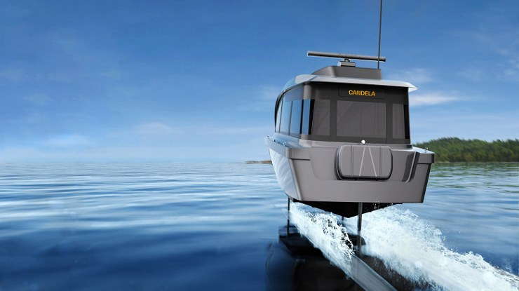 Introduced the Candela P-12 electric hydrofoil taxi