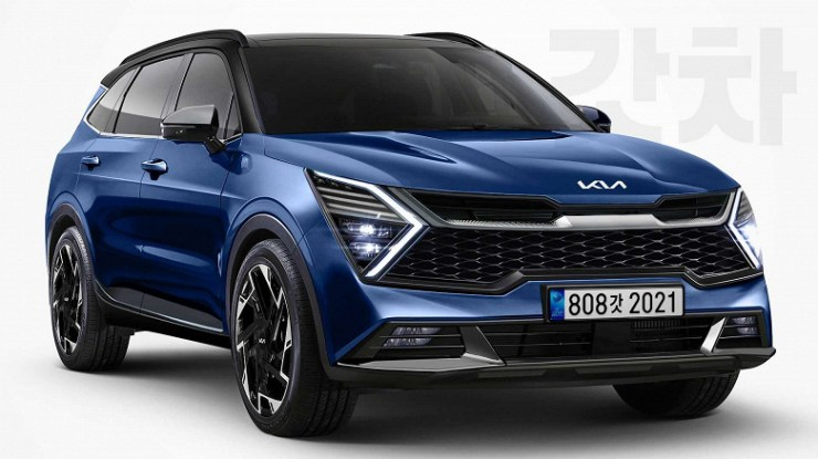 The new Kia Sportage in detail.  Details of the different versions