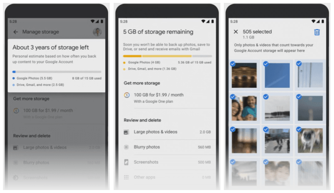 Free unlimited is coming to an end, the tool for saving space on Google Photos has already become available to users