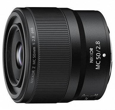 The first images of Nikon Nikkor Z MC 105mm f / 2.8 VR S and MC 50mm f / 2.8 lenses appear