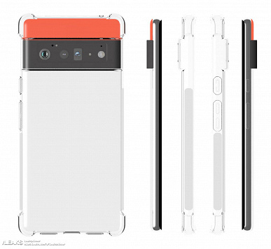 Case images confirm the unusual cameras of the Google Pixel 6 and Pixel 6 Pro