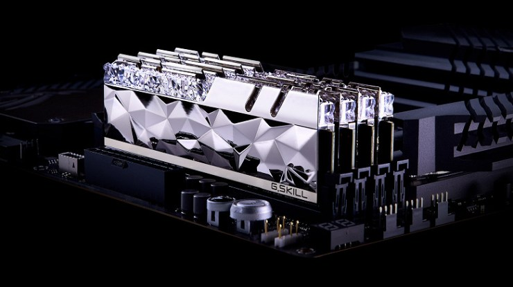 G.Skill Trident Z Royal Elite Series Includes DDR4-4000 and DDR4-3600 Memory Kits