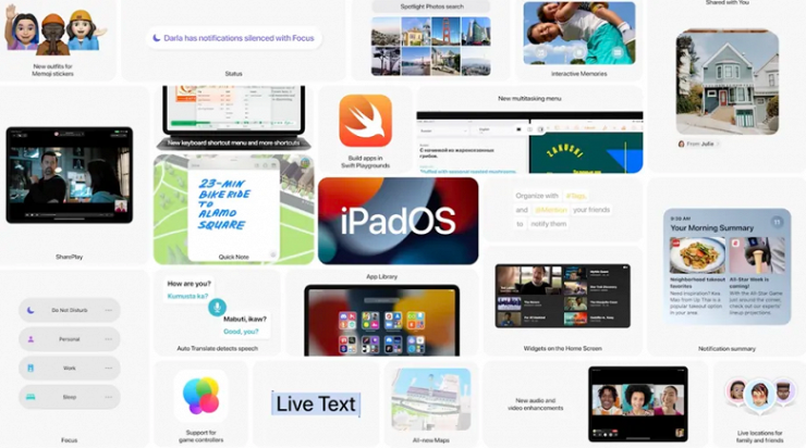 Apple Introduces iPadOS 15 With Many New Features