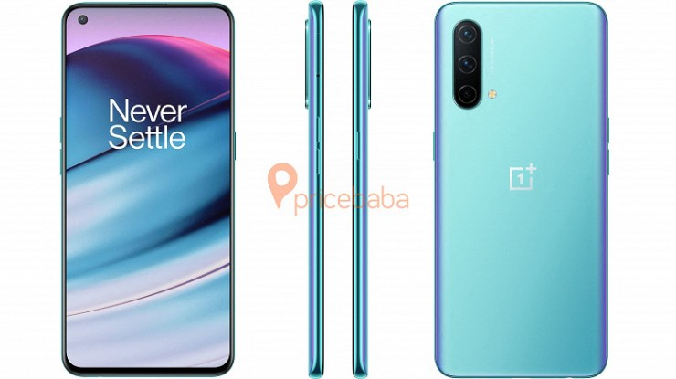 OnePlus Nord CE 5G in all colors on new renders