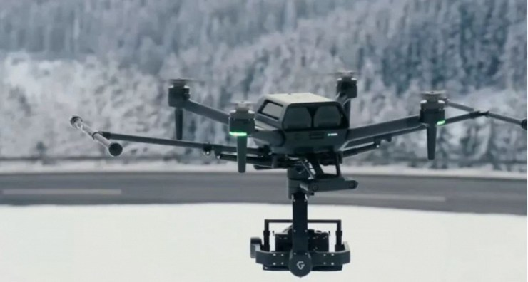 Sony unveiled the Airpeak S1 drone for $ 9,000.  It has no built-in video capture camera or stabilizer.