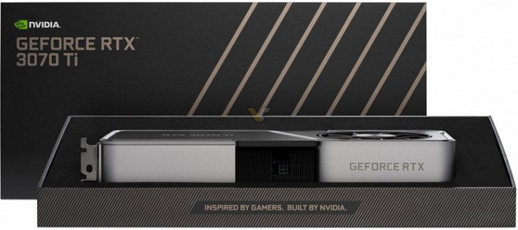 Nvidia GeForce RTX 3070 Ti goes on sale.  Prices in the USA - from 600 to 1000 dollars