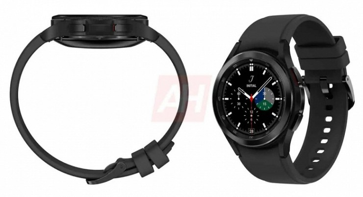 This is what the brand new Samsung Galaxy Watch 4 Classic looks like.  Official images released