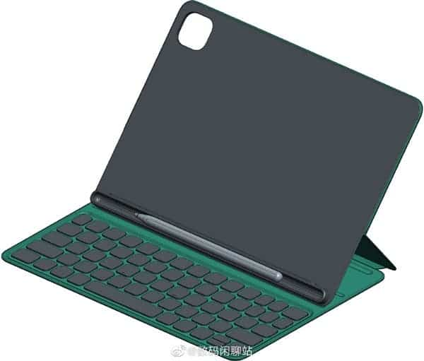 The first images of the keyboard cover for Xiaomi Mi Pad 5 confirm the design of the tablet