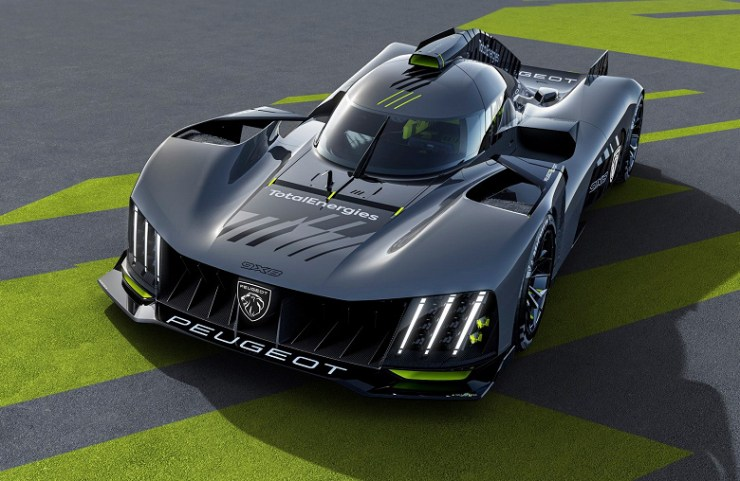 Introduced a hybrid Peugeot with a 680-horsepower gasoline engine and a 272-horsepower electric motor