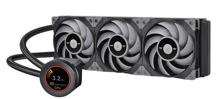 Introduced Thermaltake ToughLiquid Ultra processor LSS with ToughFan Turbo fans