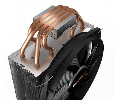 The be quiet! Processor cooling system has been announced for sale  Shadow rock slim 2