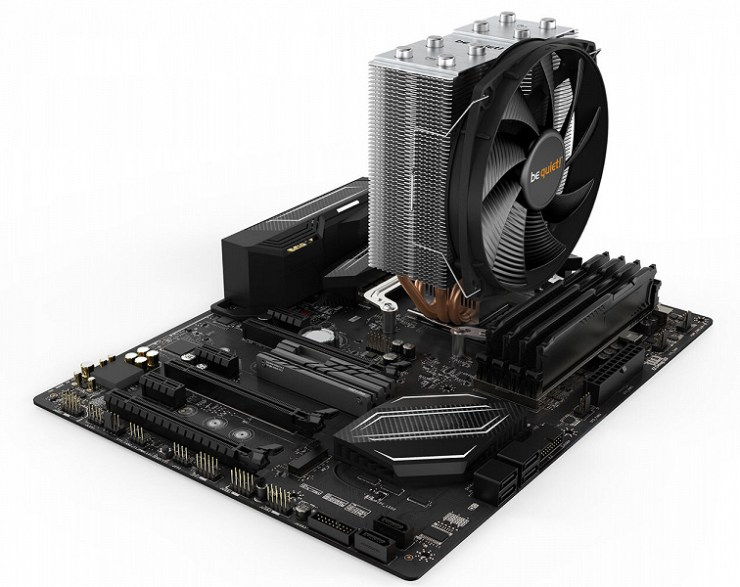 The be quiet! Processor cooling system is on sale  Shadow rock slim 2