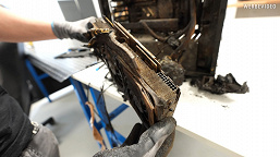 The house burned down, the computer burned down, but the video card did not.  GeForce RTX 2070 Super demonstrates miracles of survivability