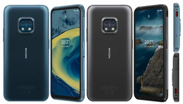 IP68, 5G, 48 MP, 4630 mAh and the prospect of upgrading to Android 14. Nokia XR20 rugged smartphone presented