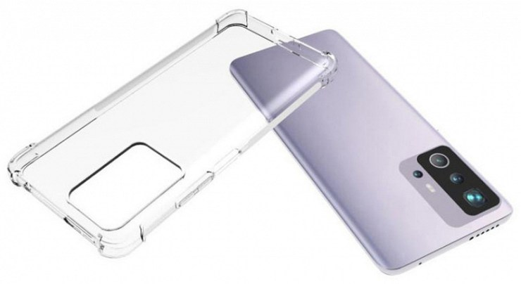 This is what the new flagship Xiaomi looks like.  Mi 11T poses in images in a transparent case