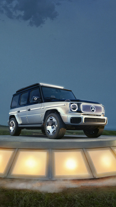 Mercedes-Benz reveals what the electric version of the legendary G-Class SUV will look like