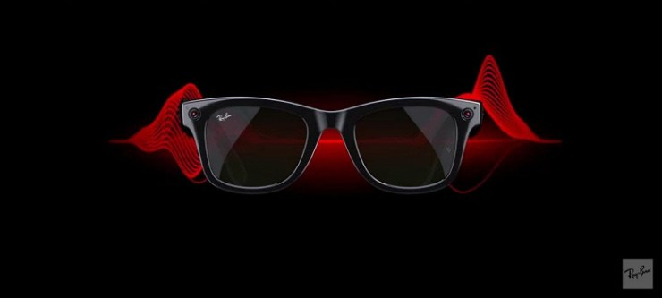 Facebook on the face.  Facebook partners with Ray-Ban to unveil Ray-Ban Stories smart glasses