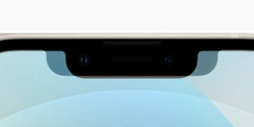 The fringe of the iPhone 13 has even increased in height compared to the iPhone 12, but has become narrower