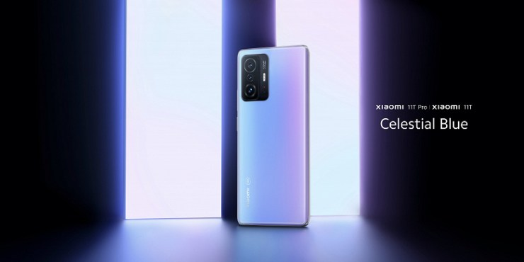 New generation 108 MP, AMOLED, 120 Hz, 5000 mAh and 120 W.  Xiaomi 11T and 11T Pro presented