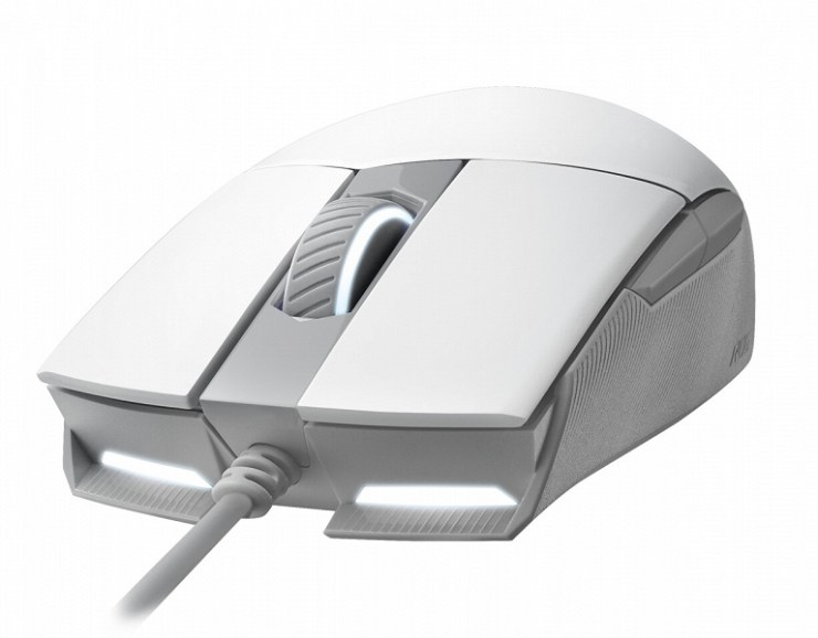 ASUS Republic of Gamers Moonlight White line of gaming peripherals introduced