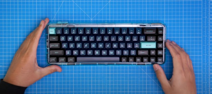 Mojo68 is a transparent mechanical keyboard with already raised $ 730,000 for the release