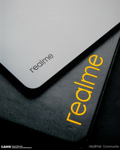 The first tablet Realme Pad finally showed live: published high-quality photos