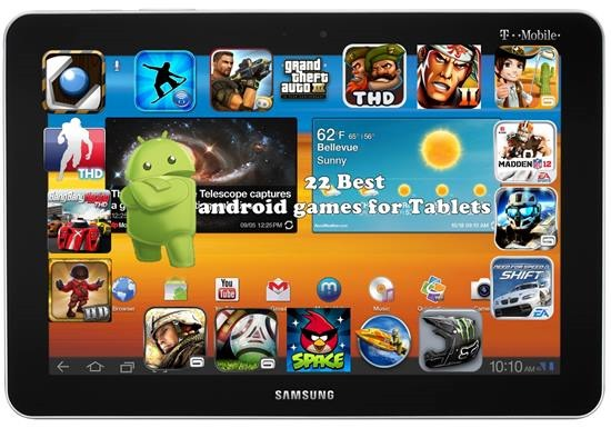 Best android games for Tablets